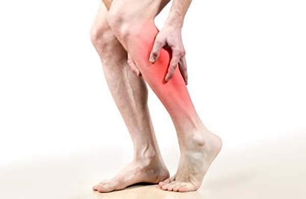 Локализация боли в ногах